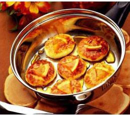 Сырники с фруктовым мармеладом