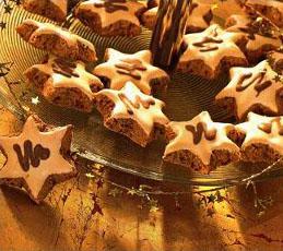 Шоколадно-кофейные звездочки