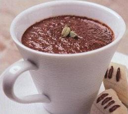 Кофейно-шоколадный коктейль с кардамоном
