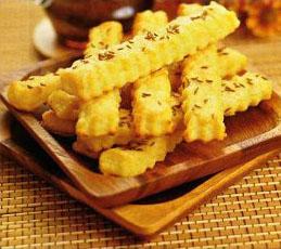 Соленое печенье с тмином