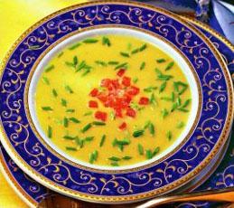 Крем-суп из чечевицы