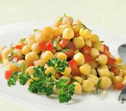 Салат гороховый
