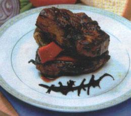 Говяжий стейк в соевом маринаде