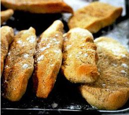 Гречневые лепешки с грецкими орехами