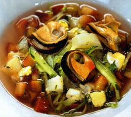 Холодный суп из ревеня