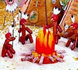 Индейцы из племени салями