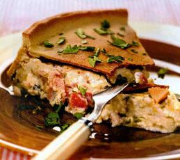 Итальянский сырный пирог
