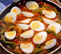 Яйца в карри