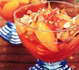 Карамельные апельсины с кампари