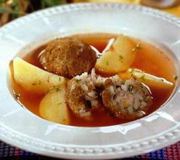 Кололик, армянский суп