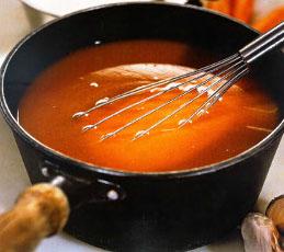 Красный основной соус