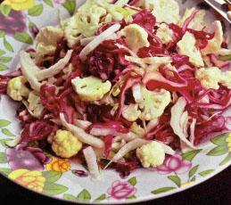 Легкий капустный салатик