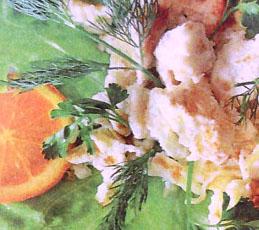 Омлет с апельсинами