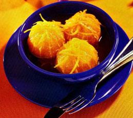 Апельсины в карамели