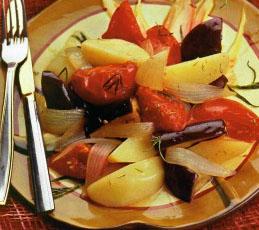 Овощное рагу с тимьяном и эстрагоном
