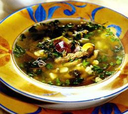 Партугальский зеленый суп