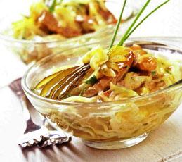 Салат-желе мясной с сыром
