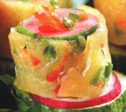 Сосиски в сыре с луком-пореем