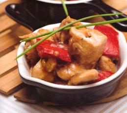 Соте из курицы с перцем. Готовим в мультиварке