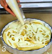 Бананы с творожным кремом приготовление