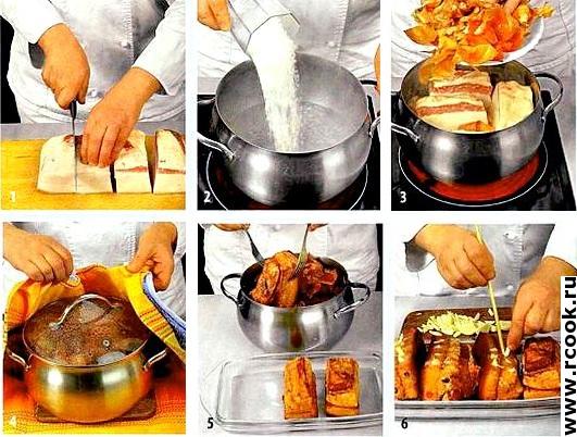 Сало в луковом маринаде приготовление