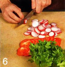 Блюдо с овощами приготовление