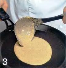 Бретонские блинчики с яйцом приготовление