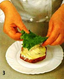 Бутерброд питательный приготовление