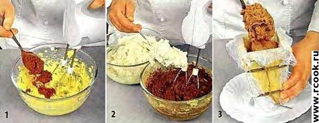 Шоколадная пасха приготовление