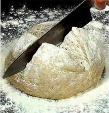 Домашний хлеб без дрожжей приготовление