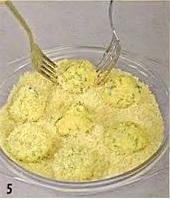 Яичные колобки приготовление