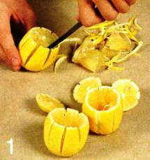 Фаршированные лимоны приготовление
