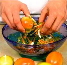 Фаршированные зеленые помидоры приготовление