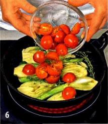 Филе скумбрии с овощами приготовление