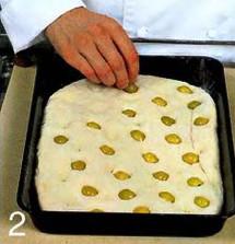Фокачча с оливками и тимьяном приготовление