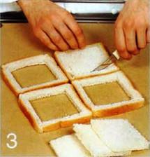 Французские тосты с яйцом и пикантным соусом приготовление