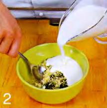 Фузилли с йогуртом и ароматными травами приготовление