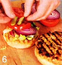 Гамбургер приготовление