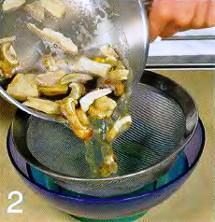 Грибной суп с перловкой приготовление