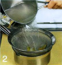 Холодный суп из лосося с луком-пореем приготовление