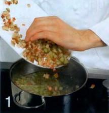 Холодный суп из ревеня приготовление