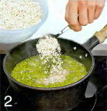 Ирландский суп с геркулесом и луком-пореем приготовление