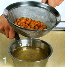 Испанский миндальный суп приготовление