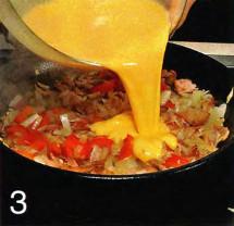 Испанский омлет приготовление