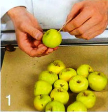 Яблоки с красной смородиной приготовление