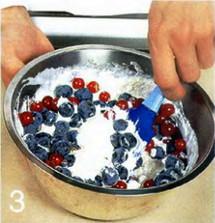 Ягоды с творожным кремом приготовление