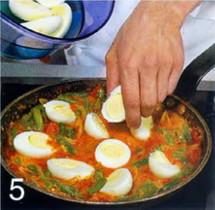 Яйца в карри приготовление