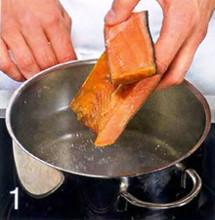 Японский суп с крабами и яйцами приготовление