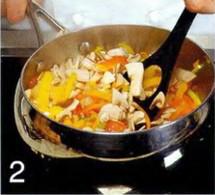 Кальмары фаршированные тушеными овощами и грибами приготовление