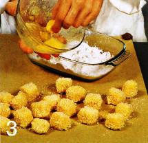 Кольца кальмаров с сыром, маслинами и оливками приготовление